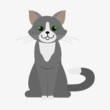 Cat  illustration Royalty Free Stock Photos