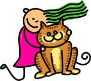 Free Cat Kid Royalty Free Stock Photo - 25559075