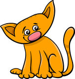 Cat or kitten cartoon character Stock Photo