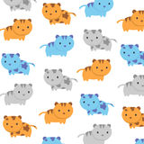 Cat kitty background and tecture  vector Royalty Free Stock Images