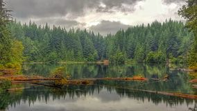 Cat Lake BC Royalty Free Stock Photo