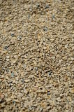 Cat Litter Background Texture. Kitty Litter Background Texture with clean new brown, gray, and blue rocks mixed in stock photos