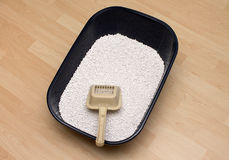 Cat litter Stock Photos