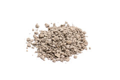 Cat litter. Isolated on white background. Royalty Free Stock Image
