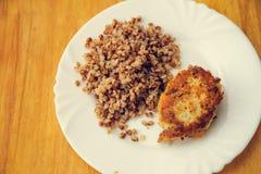 Food plate Stock Photo