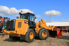 CAT 926M Wheel Loader on Display stock photography