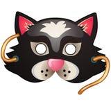Cat Mask Acessórios do carnaval e do disfarce Imagens de Stock