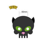 Cat mask. Skull for Halloween. Honey mask for holiday. Vector il Royalty Free Stock Photo