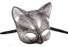Cat masquerade mask cutout Stock Photography