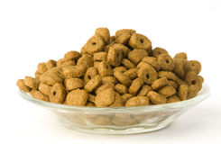 Cat meal Stock Images