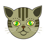 Cat meow. Can be used as a shortcut to the website or the labels of cat food, or any means that is associated with cats Stock Images