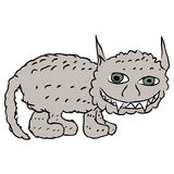 Cat monster Royalty Free Stock Photos