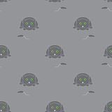 Cat and mouse pattern Stock Image