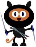 Cat Ninja Royalty Free Stock Photo