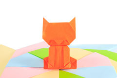 Cat Paper Royalty Free Stock Image