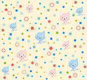 Cat pattern background  Royalty Free Stock Photos