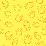 Cat pattern. Royalty Free Stock Image