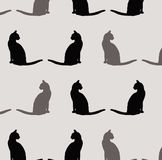 Cat pattern Royalty Free Stock Photography