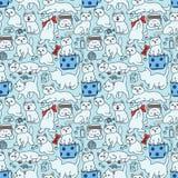 Cat pattern Stock Photos