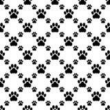 Cat paw seamless Royalty Free Stock Photos
