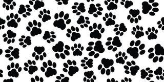 Cat paw seamless Stock Image