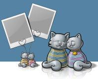 Cat Photo holder Royalty Free Stock Image