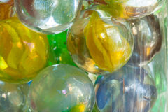Cat's Eye Shooter Marbles Stock Photography