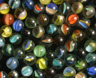 Cat's eyes marbles Stock Photo