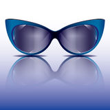 Cat's eyes sunglasses Royalty Free Stock Image
