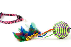 Cat's toys Royalty Free Stock Images