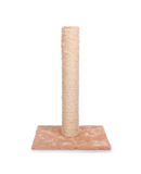 Cat scratching post Stock Photo