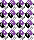 Cats pattern Royalty Free Stock Photography
