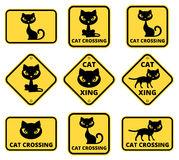Cat Sign Photographie stock