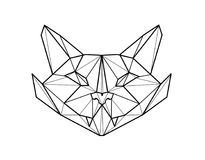 Cat. Sketch of tattoo. Illustration. For your article, magazine, book Stock Image
