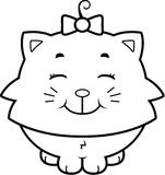 Cat Smiling Royalty Free Stock Photo