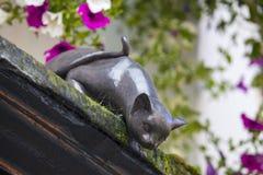 Cat Statue en York Imagenes de archivo