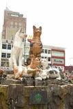 Cat Statue, Kuching, Sarawak royalty free stock image