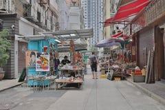 Cat Street Antiques em Hong Kong, imagem de stock