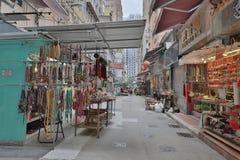 Cat Street Antiques em Hong Kong, imagem de stock royalty free