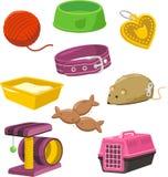 Cat Stuff Toy Set Fotografía de archivo