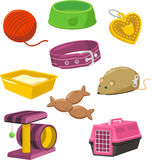 Cat Stuff Toy Set Stock Photography