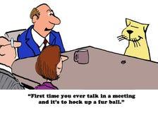 Cat talk Royalty Free Stock Photo