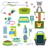 Cat toys collection Stock Photography