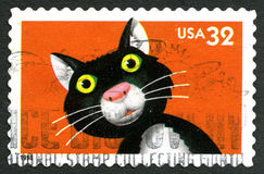 Cat USA Postage Stamp Stock Images