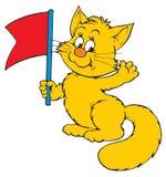 Cat (vector clip-art). Vector clip-art / children's illustration for your design Royalty Free Stock Image