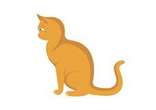 Cat Vector illustration Royaltyfria Bilder