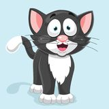 Cat Vector Illustration. Eps 10 Royalty Free Stock Images