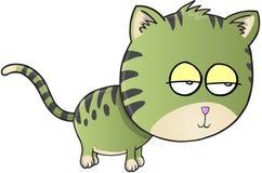 Cat Vector sonnolenta Fotografia Stock
