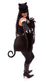 Cat Woman Royalty Free Stock Photography