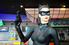Cat Woman Royalty Free Stock Images